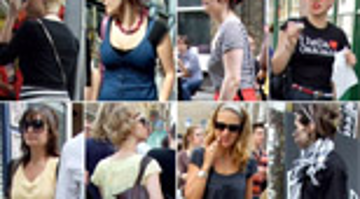 Summer Street Fashion in LONDON